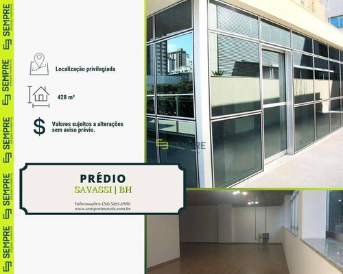 Imagem 1 de 23 de Prédio À Venda, 428 M² - Savassi - Belo Horizonte/mg - Pr0013