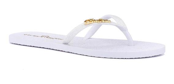 Chinelo Branco Glitter - R0304445007
