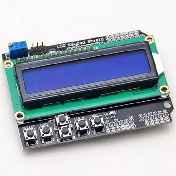 Módulo Shield Display Lcd 1602 16x02 Keypad - Arduino Pic