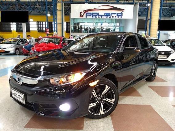 Honda Civic Ex 2.0 Flex Cvt 2017 Completo Novíssimo!
