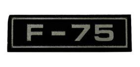Emblema F-75 (adesivo)
