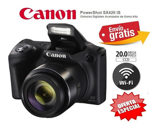Camara Canon Sx420 Wifi- 84x Zoom 20mpx Hd Gps Video Remate!