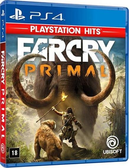 Jogo Far Cry Primal Ps4 Midia Fisica Original Novo Português