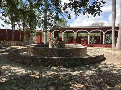 Casona Tipo Hacienda Yucateca, Increíbles Espacios Naturales