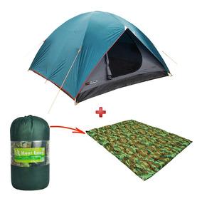 Kit Camping Barraca Nautika Cherokee Gt 3/4 + Colchão Casal