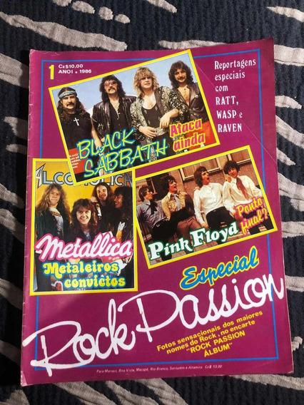 Rock Passion 86 Especial Black S Metálica Pink Floyd Raven