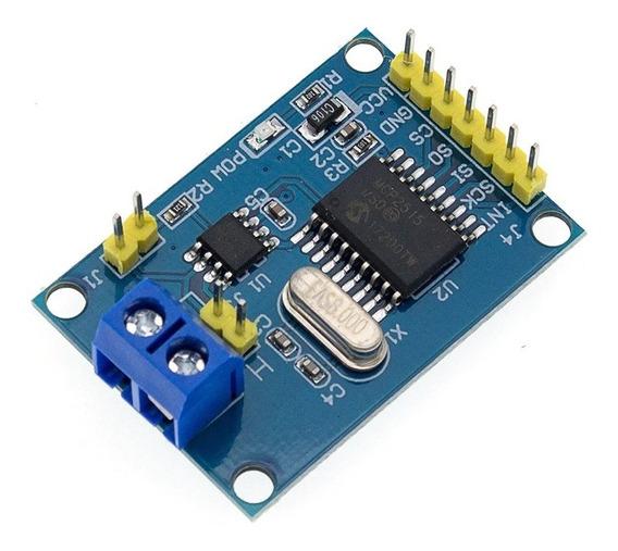 Módulo Can Bus Mcp2515 Tja1050 Obdii Arduino