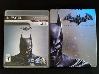 Batman Arkham Origins Con Caja Metálica