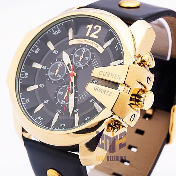 Relógio Masculino Curren 8176 Original (s/estoque)