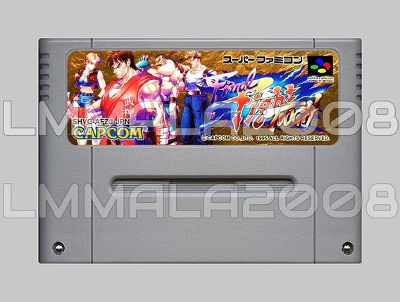 Final Fight Tough Original Snes Super Famicom Super Nintendo