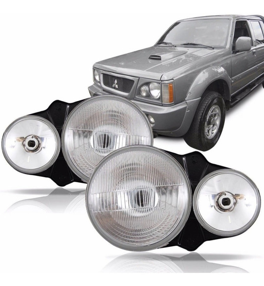 Par De Farol Mitsubishi L200 1999 2000 2001 2002 2003 2004