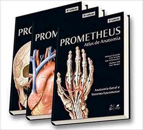 Prometheus Coleção Atlas De Anatomia 3 Volumes 4ª 2019