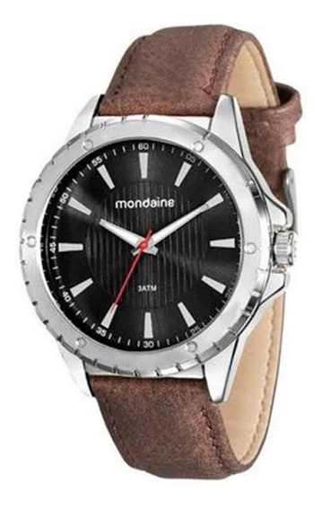 Relógio Masculino Mondaine Marrom 76678g0mvnh2