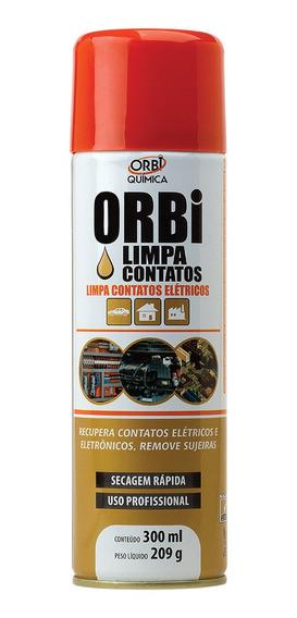 Limpa Contato Elétrico / Eletronico Spray 12 Peças Orbi