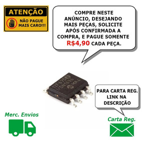 Microcontrolador Pic12f675 Smd 02 Pçs. W