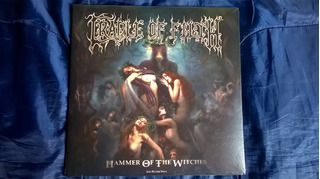 Lp Doble Picture Cradle Of Filth Hammer Of The Witches