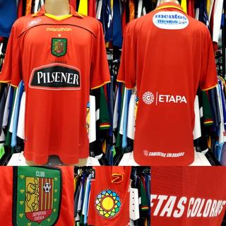 Camisa Deportivo Cuenca-equ - Marathon - Xxl - 2012 - S/nº