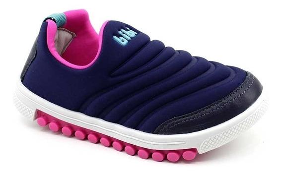 Zapatillas Nena Azul Bibi Roller 679412
