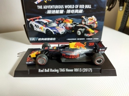 Red Bull Racing Tag Hever Rb13 N33 Taiwan 7-11 Escala 1/55
