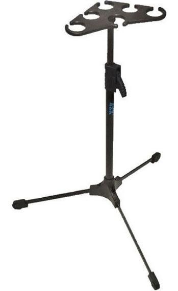 Descanso Ask M6 P/ 6 Microfones C/ Tripé Retrátil - Ac0821