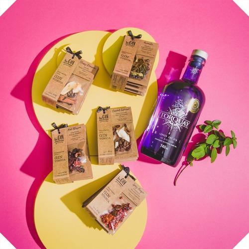 Combo Gin Torquay + 5 Kits De Especiarias Begin Spices