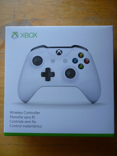 Xbox One Windows10 Control Inalambrico Blanco Nuevo