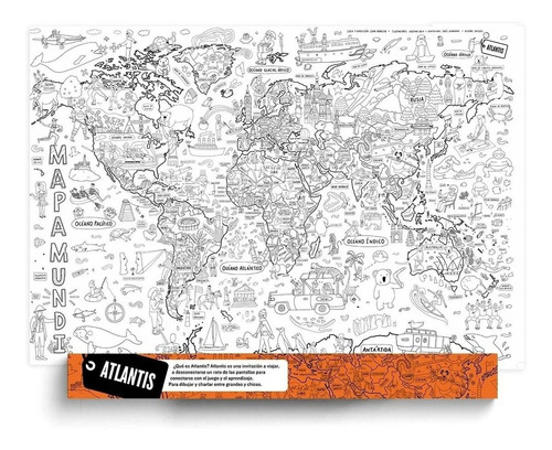 Atlantis Mapas - Proyecto Mapamundi (planisferio)
