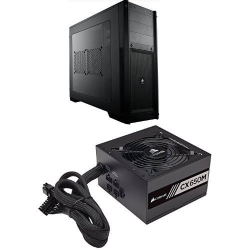 Corsair Carbide Series Black 300r Con Ventana Para Computado