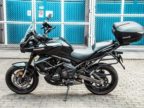 Kawasaki Versys 650 Con Frenos Abs Negra En Perfecto Estado