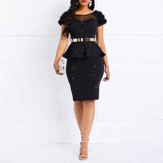 Vestido Moda Evangelica Social Elegante Pronta Entrega