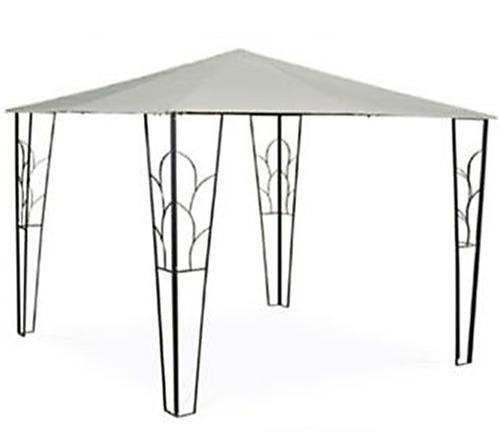 Pergola Gazebo Poliester 3x3 Reforzado Jardin Camping Carpa
