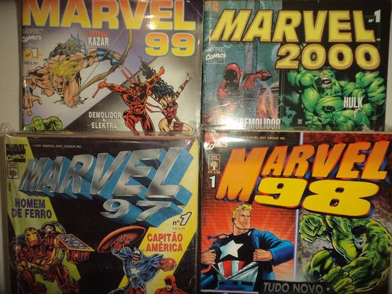 Marvel 97 98 99 2000 Completa Editora Abril Excelentes