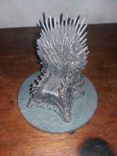 Replica Del Trono De Hierro De Game Of Thrones Original Hbo