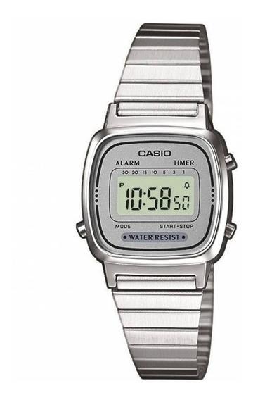 Relógio Casio Feminino Vintage La670wa-7df Retro Mini + Cx