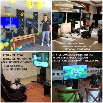 Renta De Maquinitas Videojuegos Simuladores Xbox Oculus Rift