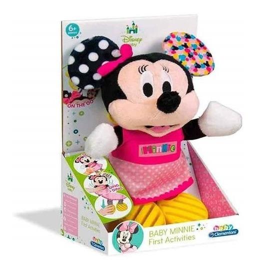 Urso De Pelucia Disney Minnie Para Bebê Primeiras Atividades
