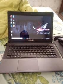 Notebook Asus X45u Hd 500 4gb Windows 10 Processador Amd