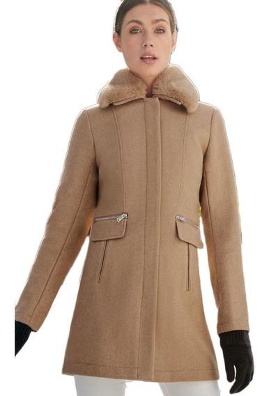 Abrigo De Invierno Camel Holly Land De Mujer Mod 861s