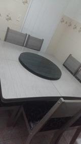 Mesa Com Centro Giratorio