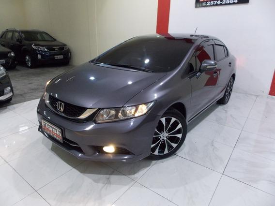 Honda Civic Lxr 2.0 2015 Automatico (top De Linha+couro)