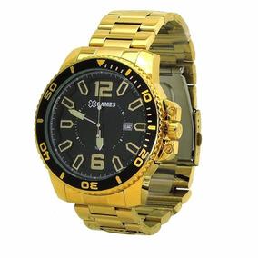 Relógio Dourado X Games Xmgs1019 Zerado 100% Original