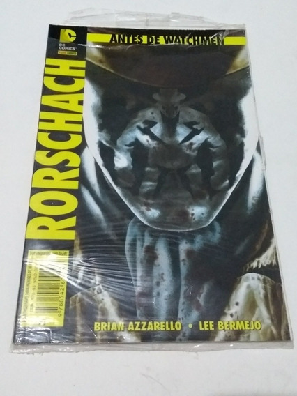 Antes De Watchmen Rorschach+ Espectral+ Comediante