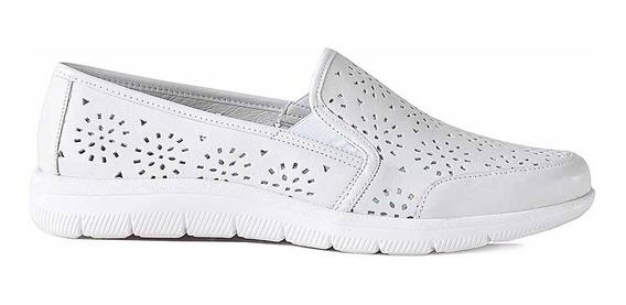 Zapato Mocasin Mujer Cuero Cavatini Confort - Mcmo03656