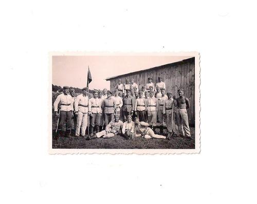 L1 - Foto De 2ª Guerra Mundial - Soldados Alemanes