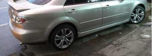 Spoiler Y Estribos Mazda 6