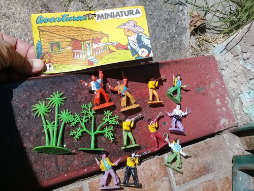 Soldaditos Aventuras Miniaturas Pistoleros Oklahoma