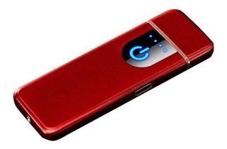 Encendedor Usb Sensor Huella Recargable
