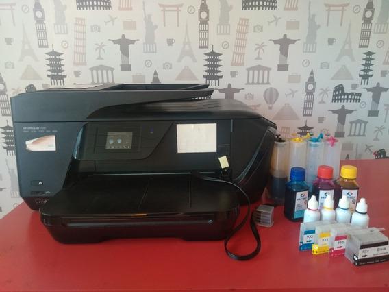 Multifuncional A3 Hp 7510 Com Bulk Ink - Defeito
