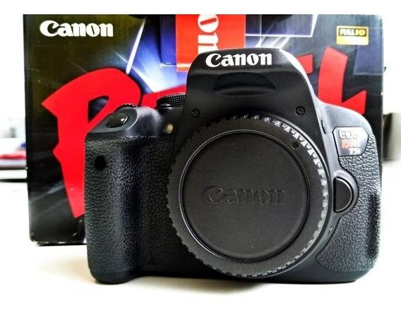 Canon T5i + Lente 18-55 Stm + Yongnuo 35mm + 2 Baterias