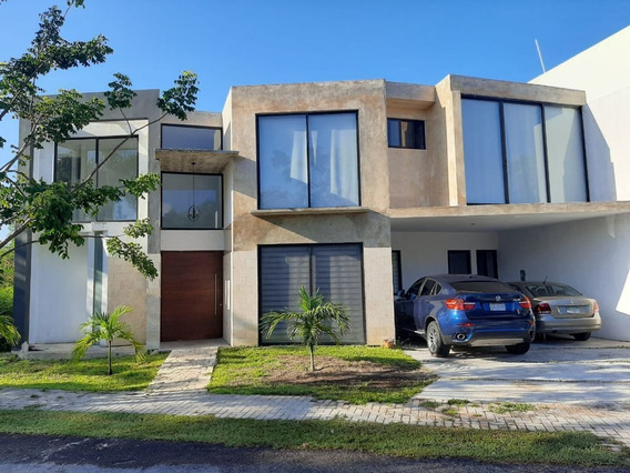 Temozon Norte Casa En Privada Punta Lago